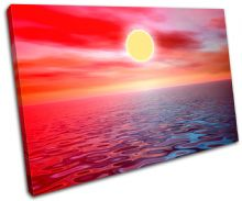 SEASCAPE Sunset Seascape - 13-1489(00B)-SG32-LO